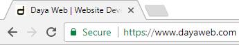 Daya Web's Let's Encrypt SSL Certificate